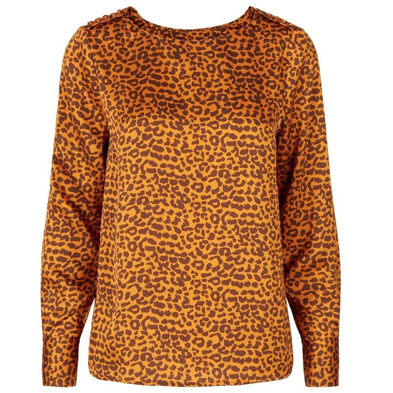 Sudan brown/black leo top yasleosa - 26013244 fra yas fra yas fra eness