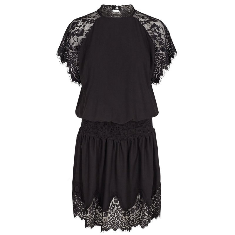 Image of BLACK ALMA-SS-DRESS 9505 Fra LIBERTE