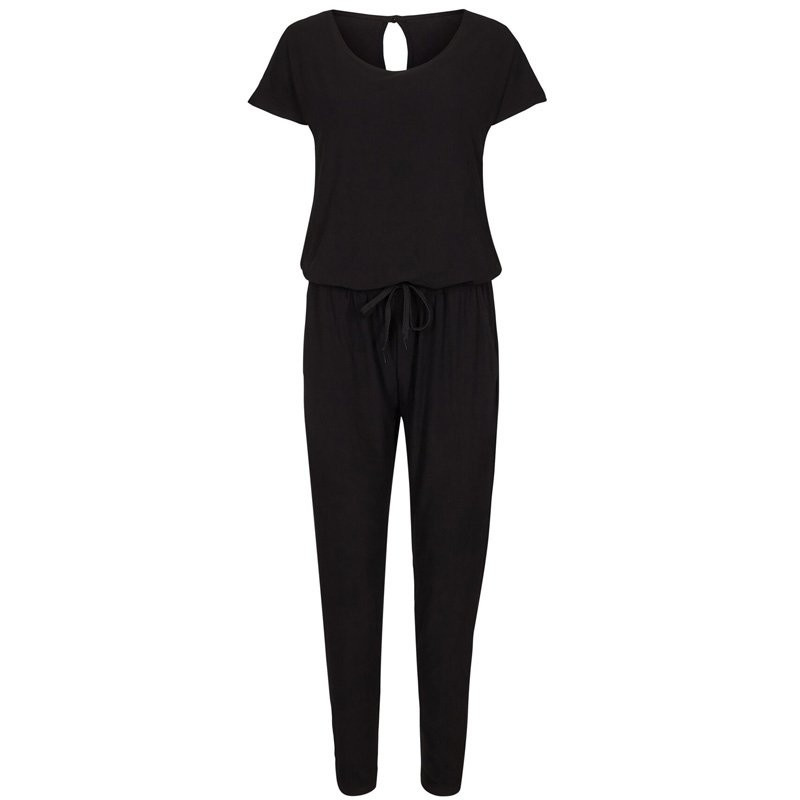 Image of BLACK ALMA-JUMPSUIT 9502 Fra LIBERTE