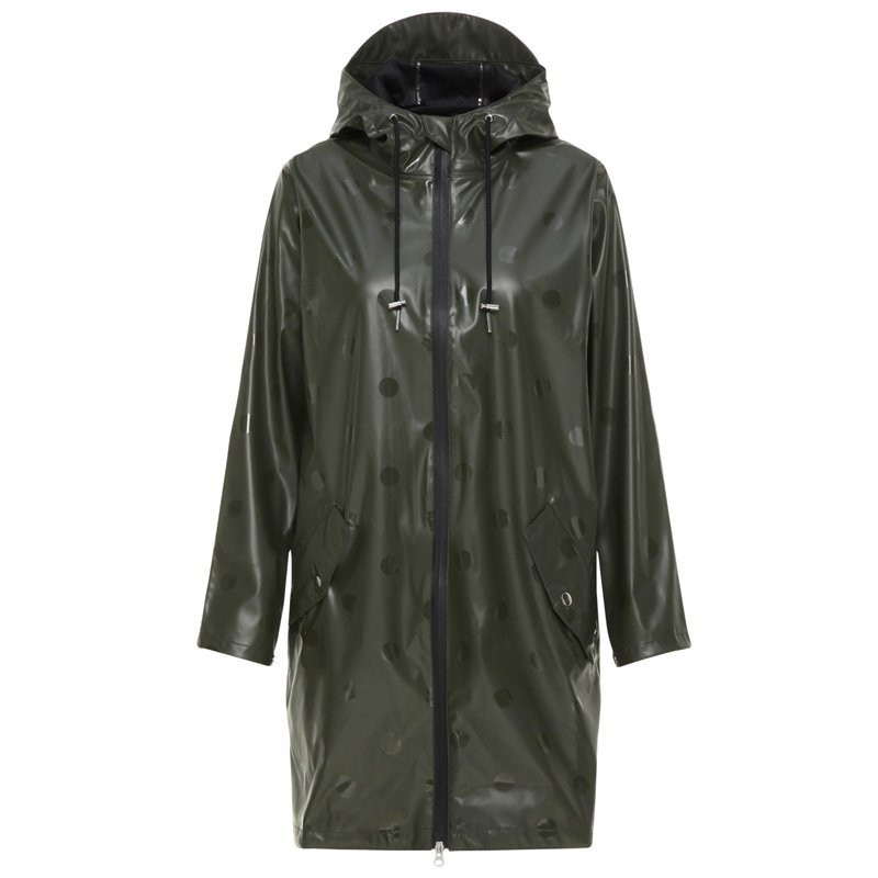 Black YASDOTTA THEKLA RAINCOAT - 26011873 Fra YAS