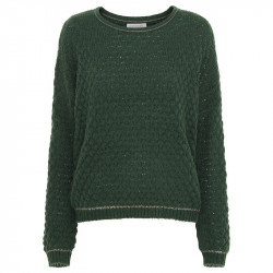Army knit Bluse - FIE Fra Continue