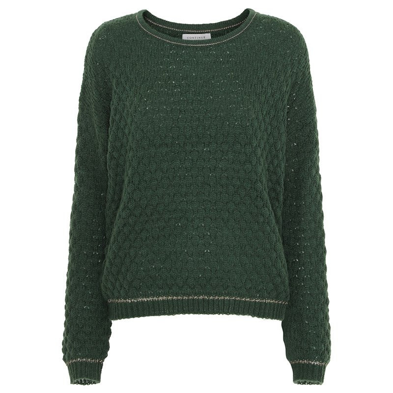 Image of   Army knit Bluse - FIE Fra Continue