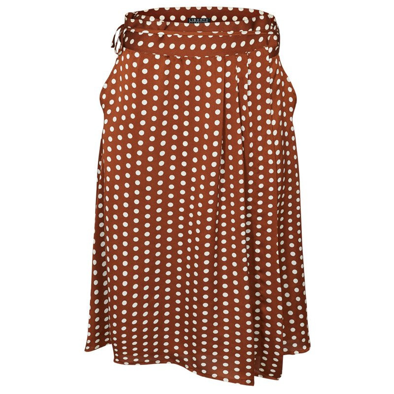 BROWN DOT EMMA-SKIRT - 4447 Fra Liberte