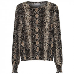 SNAKE Bluse jersey - Anne 6148 Fra Continue