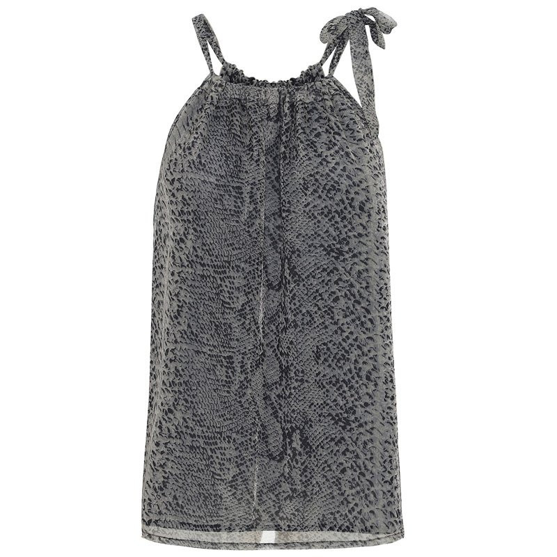 Image of   SNAKE Grey Top - Liva 1392 Fra Continue