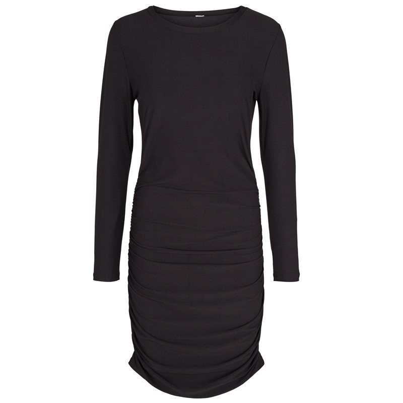 Image of   BLACK ALMA-LONG-DRESS 9506 fra Liberte