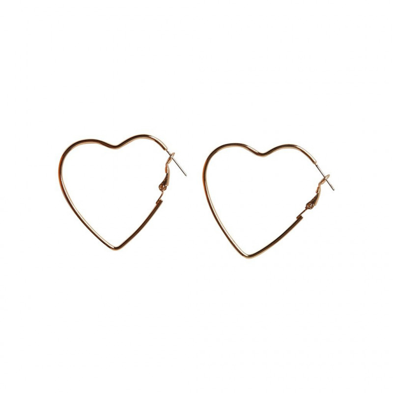 Gold Colour Earrings - 17096381 fra Pieces