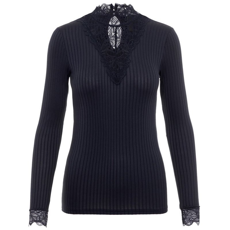 Image of   Night Sky YASBLACE HIGHNECK TOP 26012895 fra YAS