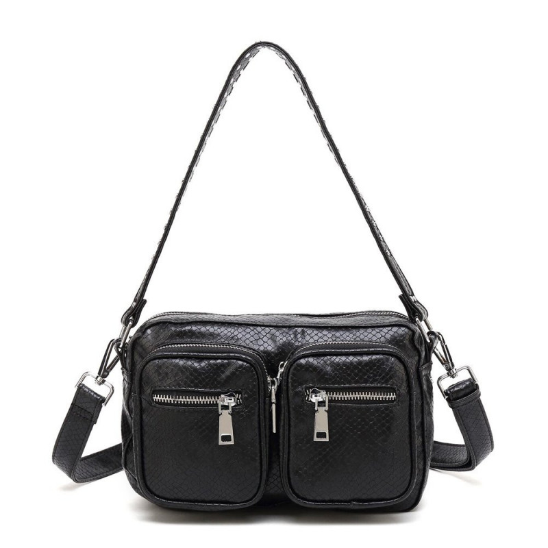 Image of BLACK SNAKE Celia Bag - Crossover BIG fra Noella (87291-630)