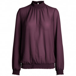 Winetasting Blouse 17092409 fra Pieces