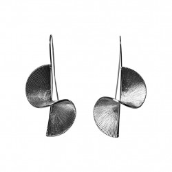 Silver PCSAWINDA EARRINGS 17095553 fra Pieces