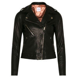 Black leather Jacket - 11023 fra Love & Divine