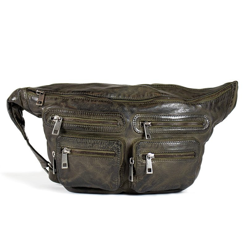 Image of Green oversize LY Bumbag Buff - fra Re:Designed (91291-355)