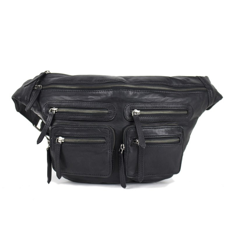 Image of   Black/silver oversize LY Bumbag - 3294 fra Re:Designed