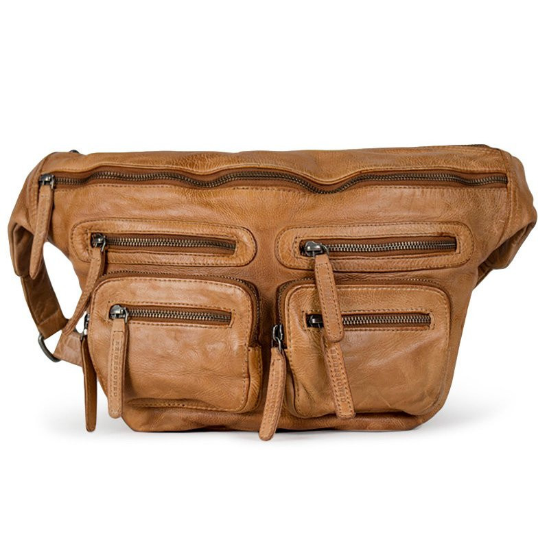 Image of   Tan oversize LY Bumbag - 4018 fra Re:Designed