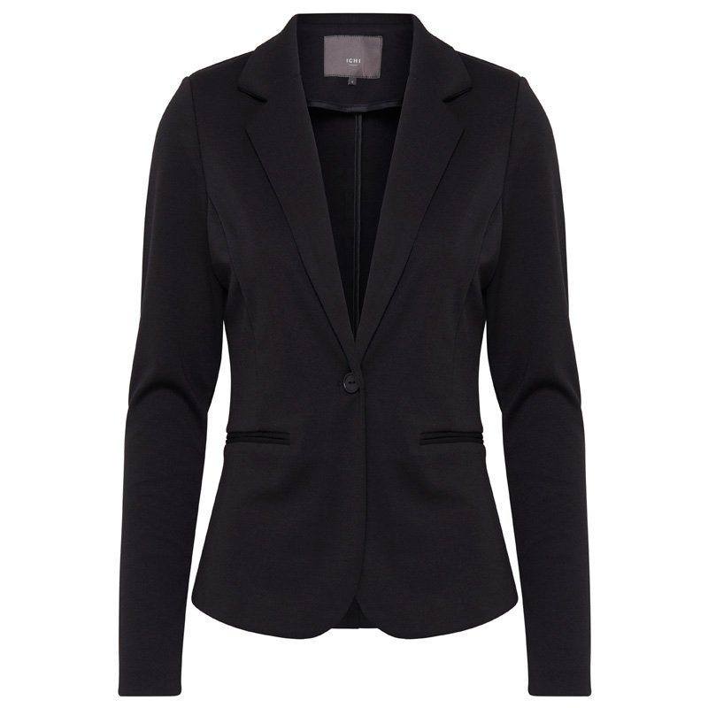 Image of   Black Blazer KATE SHORT - 20101801 fra Ichi