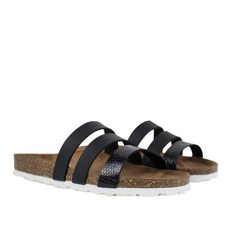 Image of Black Sandal Taimi fra Re:Designed (91291-d03)