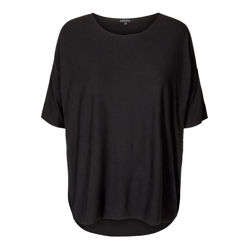 Image of   BLACK ALMA-T-SHIRT - 9519 fra Liberte
