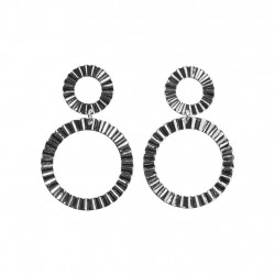 Silver Colour PCCHASTITY EARRINGS Earrings - 17096766 fra Pieces