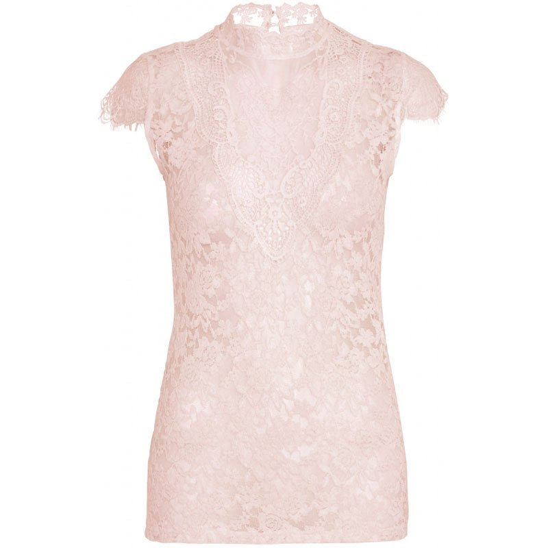Image of   Rose Lace Blouse SS laura fra Continue