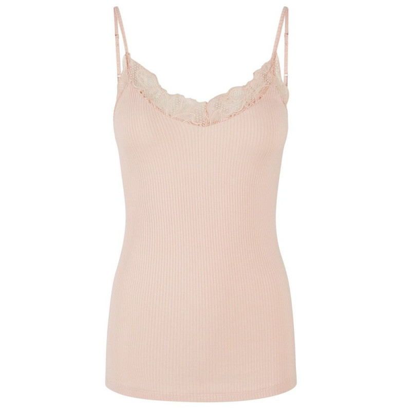 Image of   Cream Tan YASELLE SL TOP 26014629 fra YAS