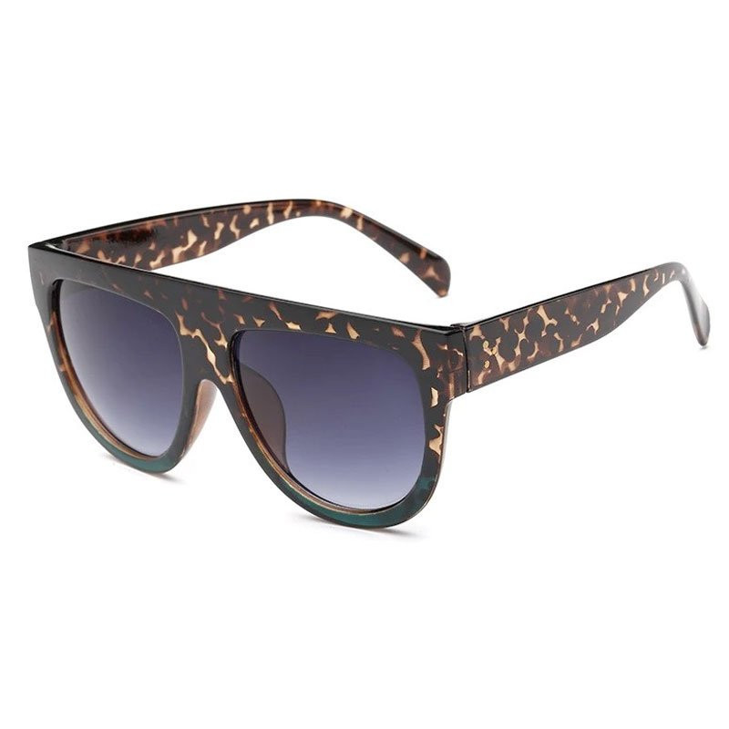 Image of LEOPARD GREEN Sunglasses 5004 fra Eness (95291-375)