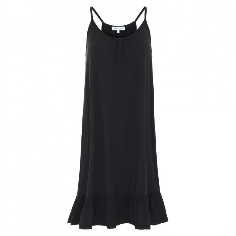 Image of   BLACK Mia Dress fra Continue