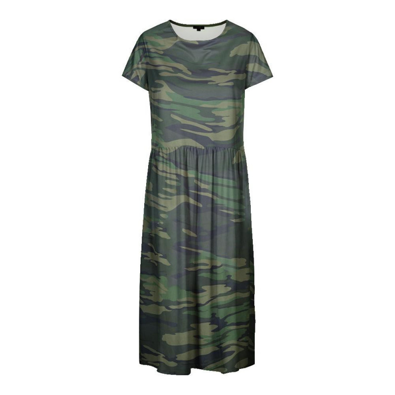 Image of ARMY ALMA-SHORT-DRESS 9518 fra Liberte