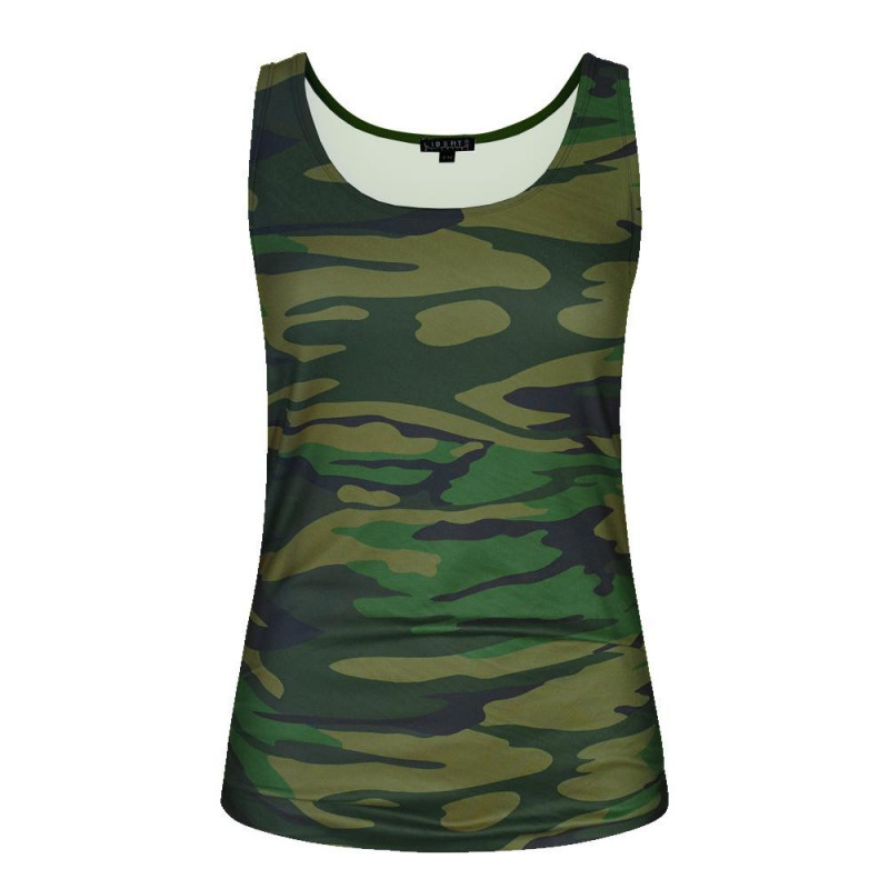 Image of ARMY ALMA-TANK-TOP 9516 fra Liberte