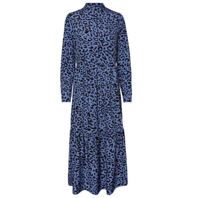Image of Airy Blue LEO PCYVO LS MIDI DRESS D2D 17101405 fra Pieces