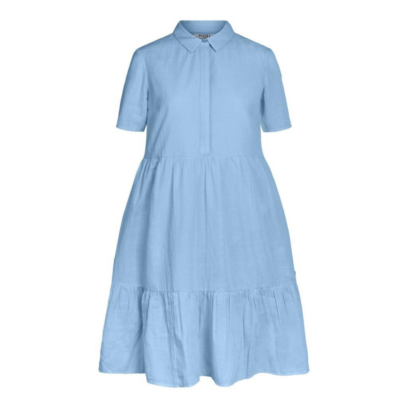Image of Airy Blue PCMALLY SS DRESS D2D JIT 17103472 fra Pieces