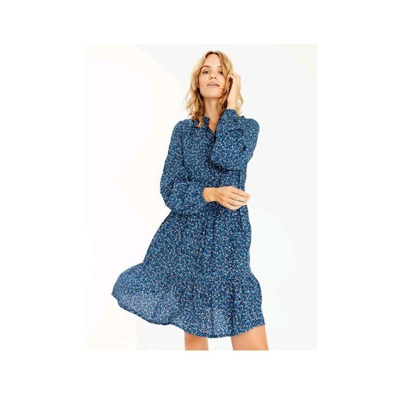 Image of   Roka Blue Print Marranie Dress 46917265 fra mbyM