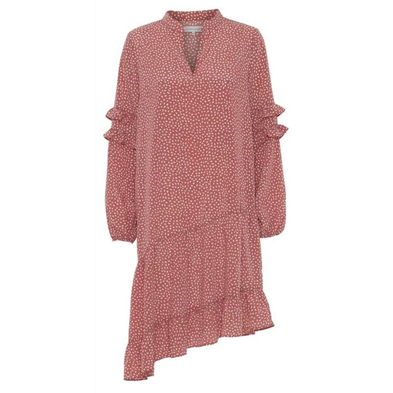 Image of   Rust Sissel Dress 10025 fra Continue
