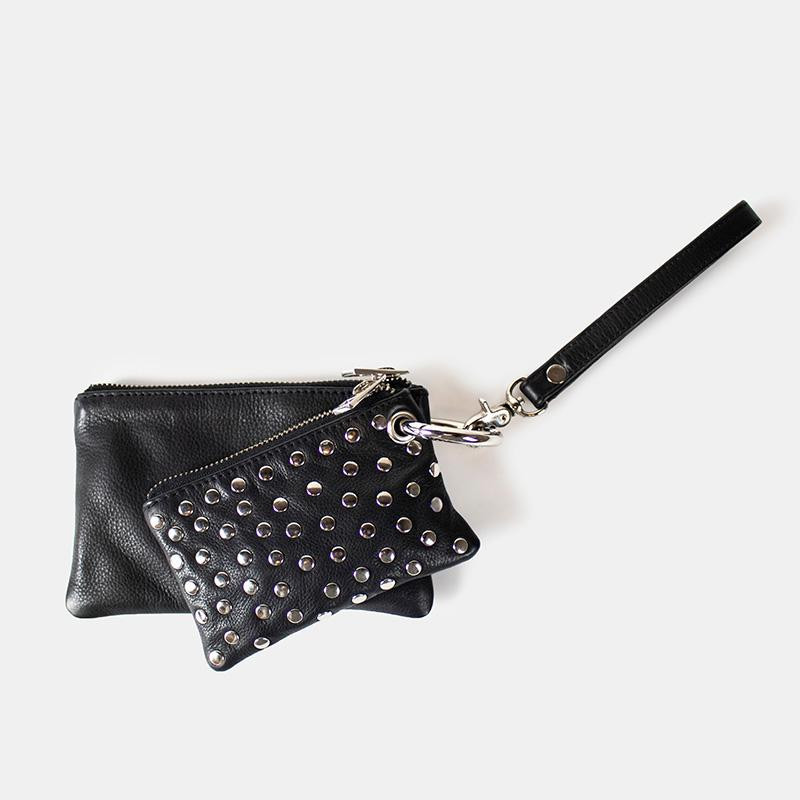 Image of Black med nitter Brisa Wallet - fra reDesigned (913391-341)