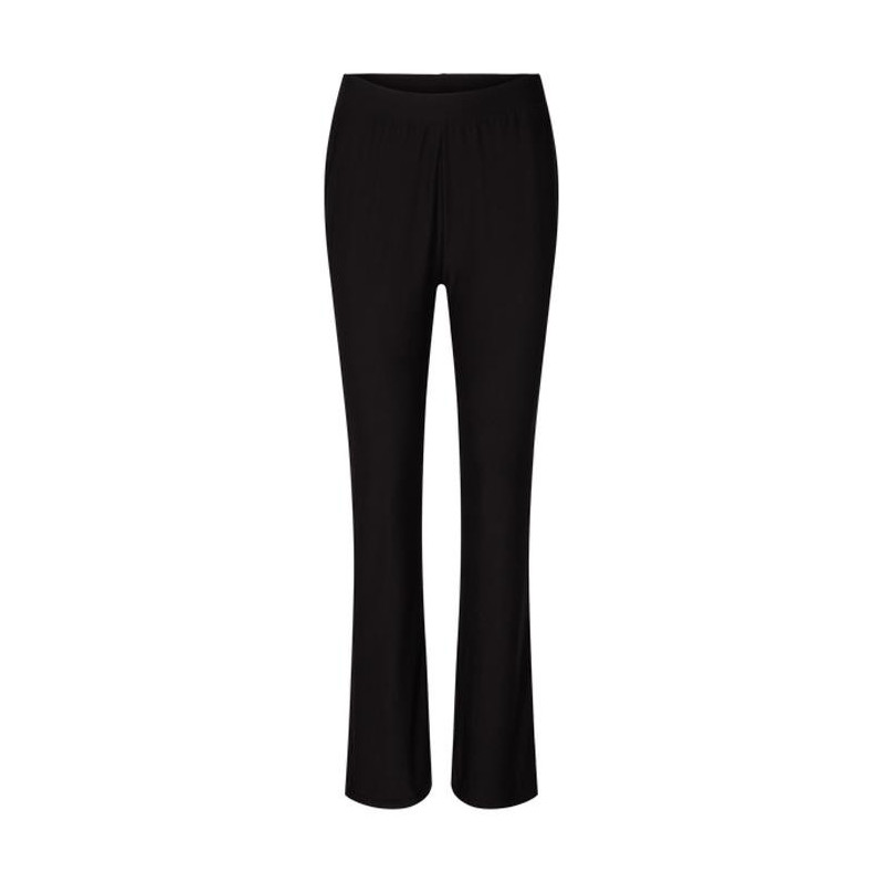 Image of BLACK ALMA-PANTS FLAIRED 9525 Fra LIBERTE
