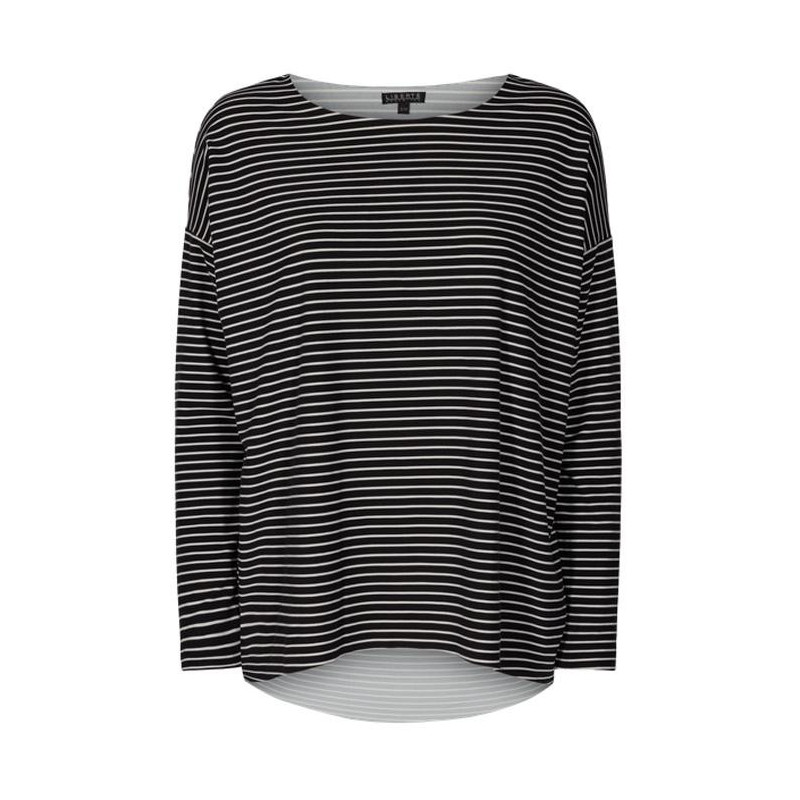 Image of   Black and white stripe ALMA-LS-TOP 9504 Fra LIBERTE
