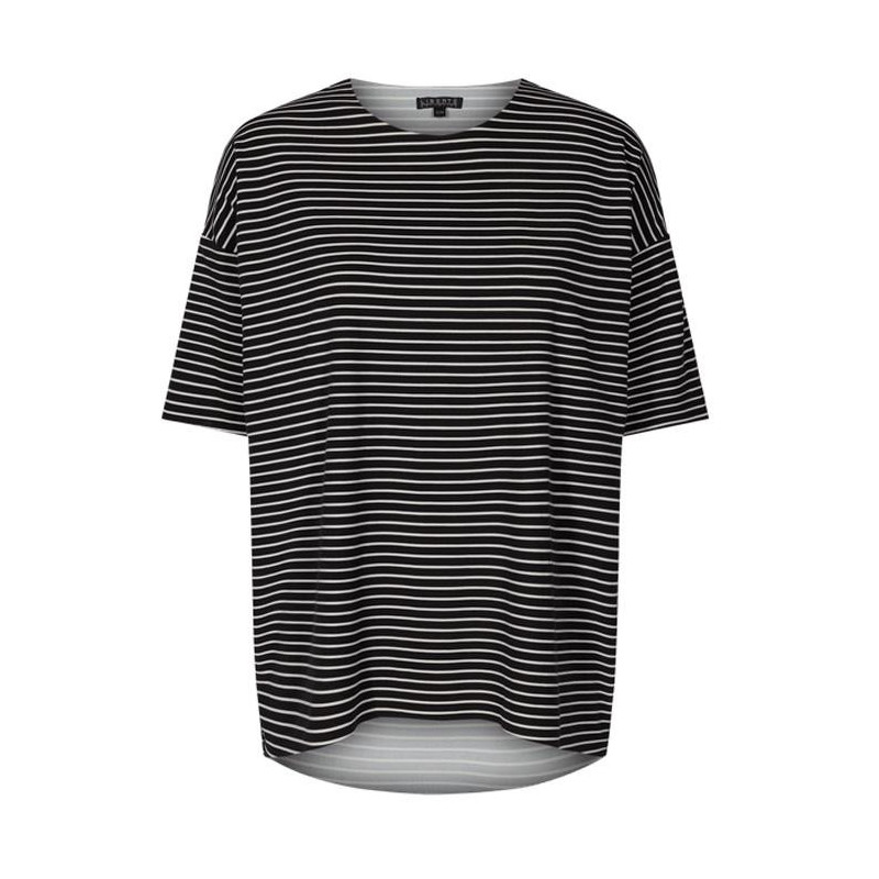 Image of Black and white stripe ALMA-T-SHIRT - 9519 fra Liberte