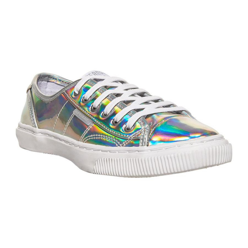 Image of Silver Trainer LOW PRO LUXE - WF100003A fra SuperDry (973791-B07)