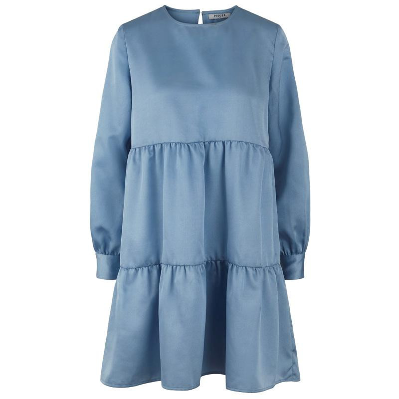 Image of   Airy Blue PCBECCA LS DRESS D2D 17104557 fra Pieces