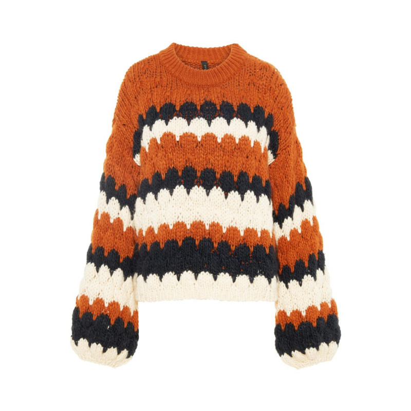 Image of   Carbon YASTONI HAND KNIT PULLOVER 26016395 fra YAS
