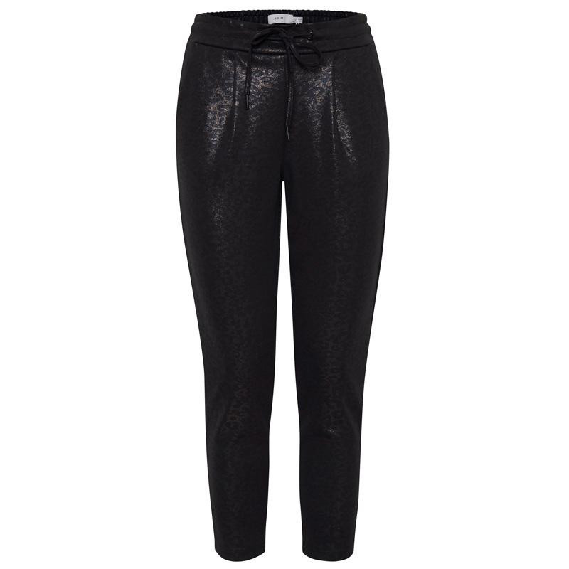 Image of   Black IHKATE SHIMMER PA Trousers 20110747 fra Ichi