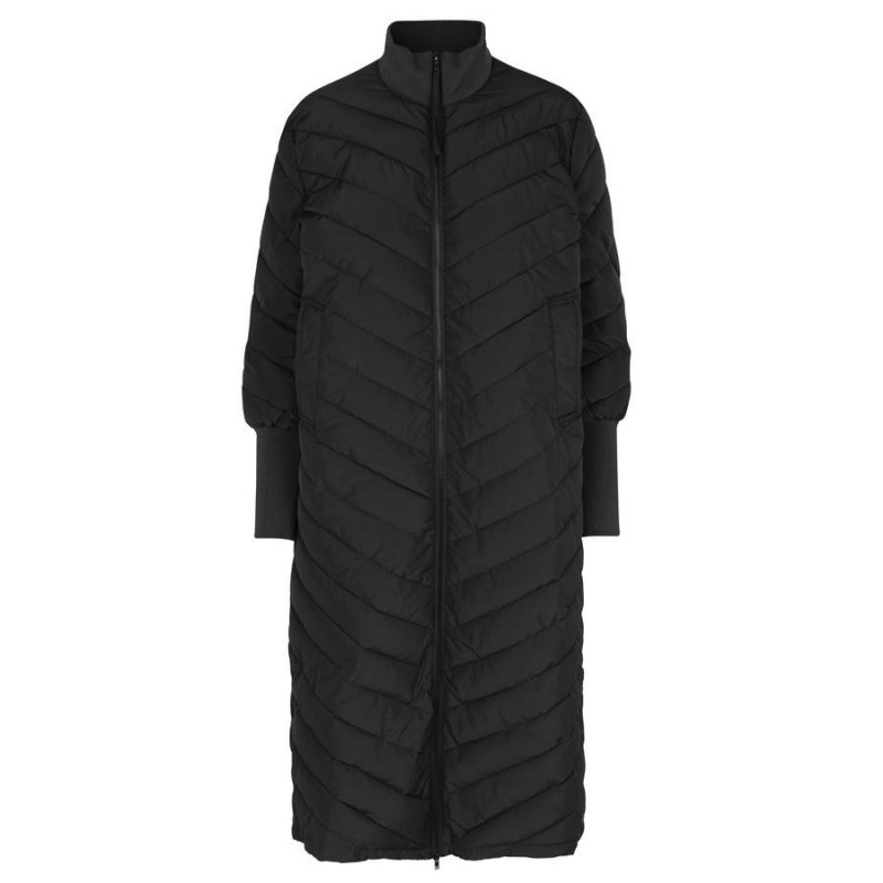 Image of BLACK LR-GIBELLA Coat 300256 fra Levete Room (903791-B15)