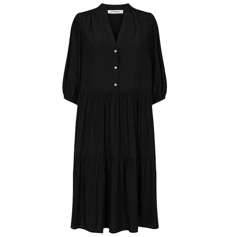Image of Black Norma Dress 96156 fra CoCouture (034191-455)