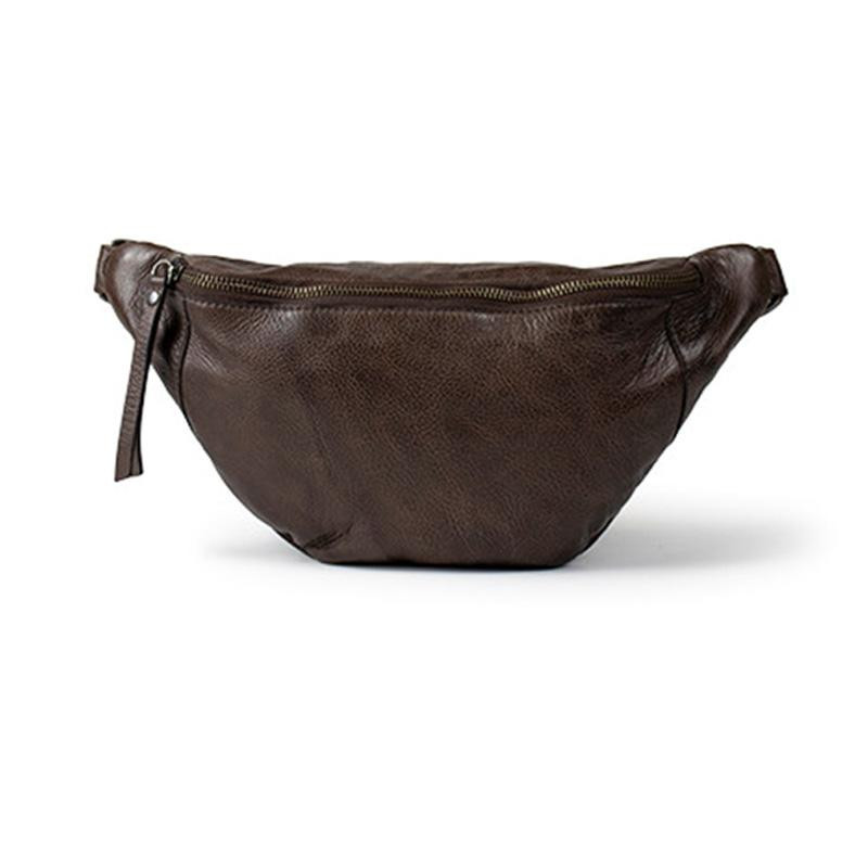 Image of Dark Brown Mette Bumbag fra ReDesigned (914391-040)
