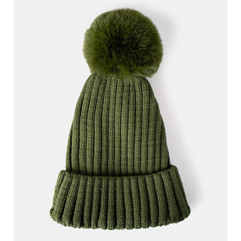 Image of   Army Green Rae Faux HUE fra ReDesigned