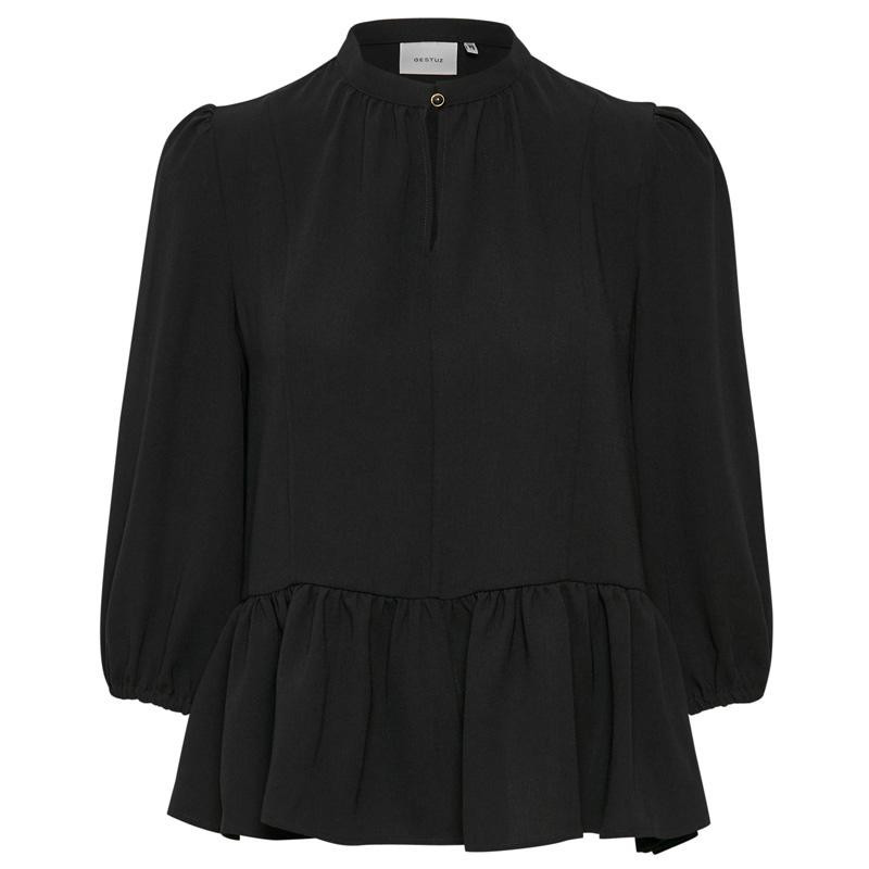 Image of   Black CeniaGZ blouse SO20 10904124 fra Gestuz