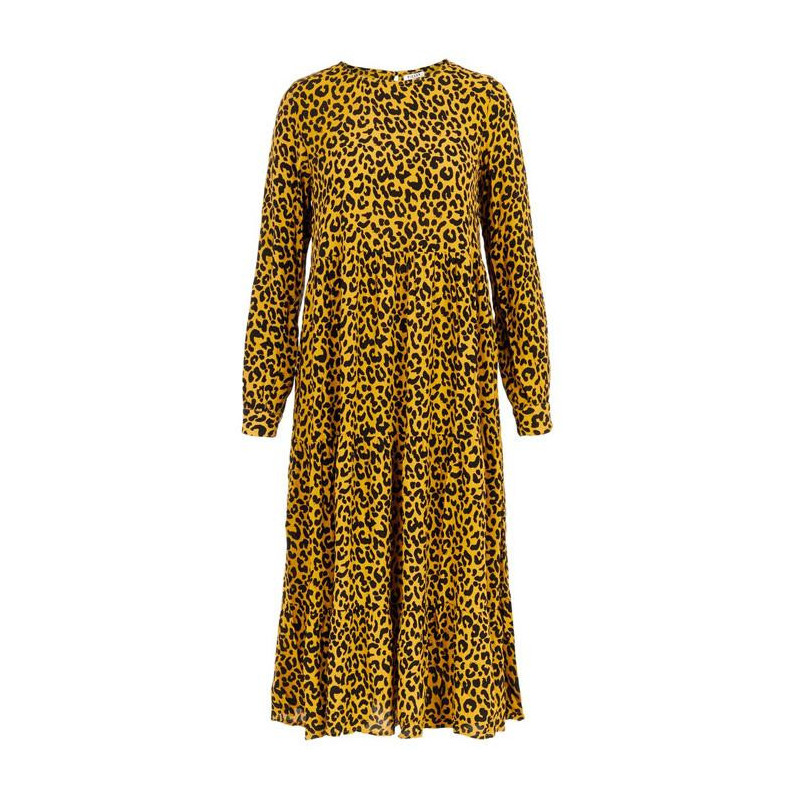 Image of   Arrowwood LEOPARD PCMEGAN LS MIDI DRESS D2D 17097823 fra Pieces