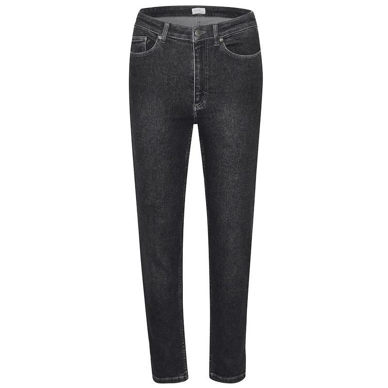Image of   Black blue AstridGZ mom jeans - 10903870 fra Gestuz