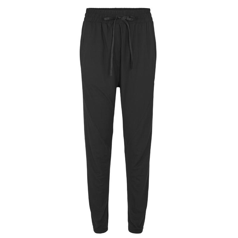 Image of BLACK ALMA-LOOSE-PANTS 9541 Fra LIBERTE