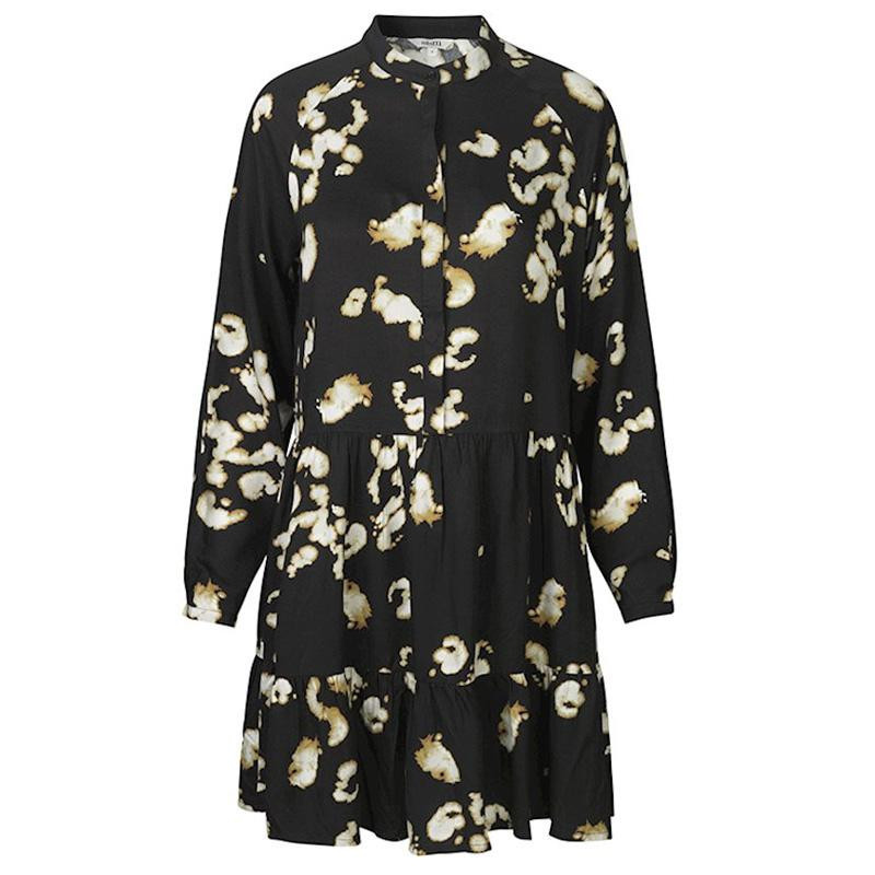 Image of   Black print Marra Dress, Allie 45927120 fra Mbym